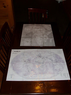 Tabletop Geography Half A Hundred Acre Wood