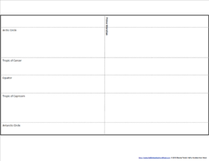 Blob Map Latitude Template