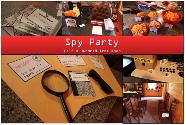 graphic regarding Spy Party Invitations Printable Free referred to as Spy Celebration Video games, Printables, and Reminiscences : Fifty percent a Hundred