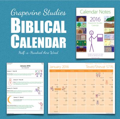 Biblical Calendar.Studying The Bible With A Calendar Half A Hundred Acre Wood