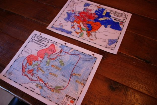 Studying World War II: Maps, Timelines, Projects : Half a