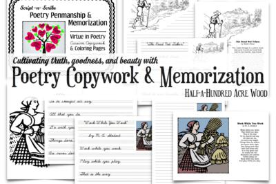 Poetry Penmanship & Memorization
