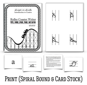 Introduction to cursive program the roller coaster writer half a books and e books fandeluxe Gallery