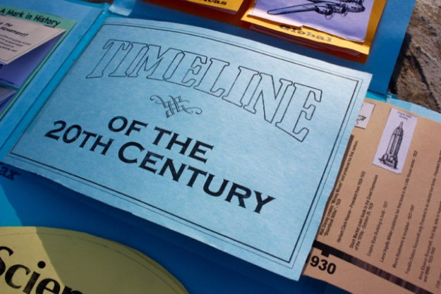 The 20th Century in America: Hands-on History : Half a