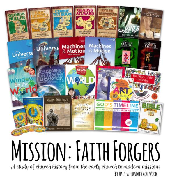 Mission: Faith Forgers Homeschool Curriculum : Half a