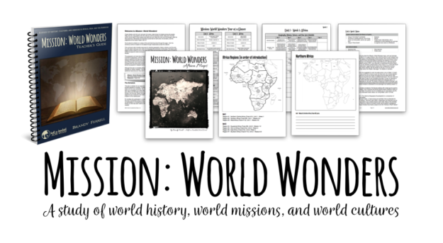 Mission World Wonders Homeschool Curriculum : Half a Hundred Acre Wood