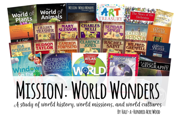 Mission World Wonders Homeschool Curriculum : Half a Hundred