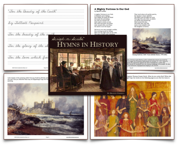 Script-n-Scribe Hymns in History: Middle Ages to Modern Times : Half
